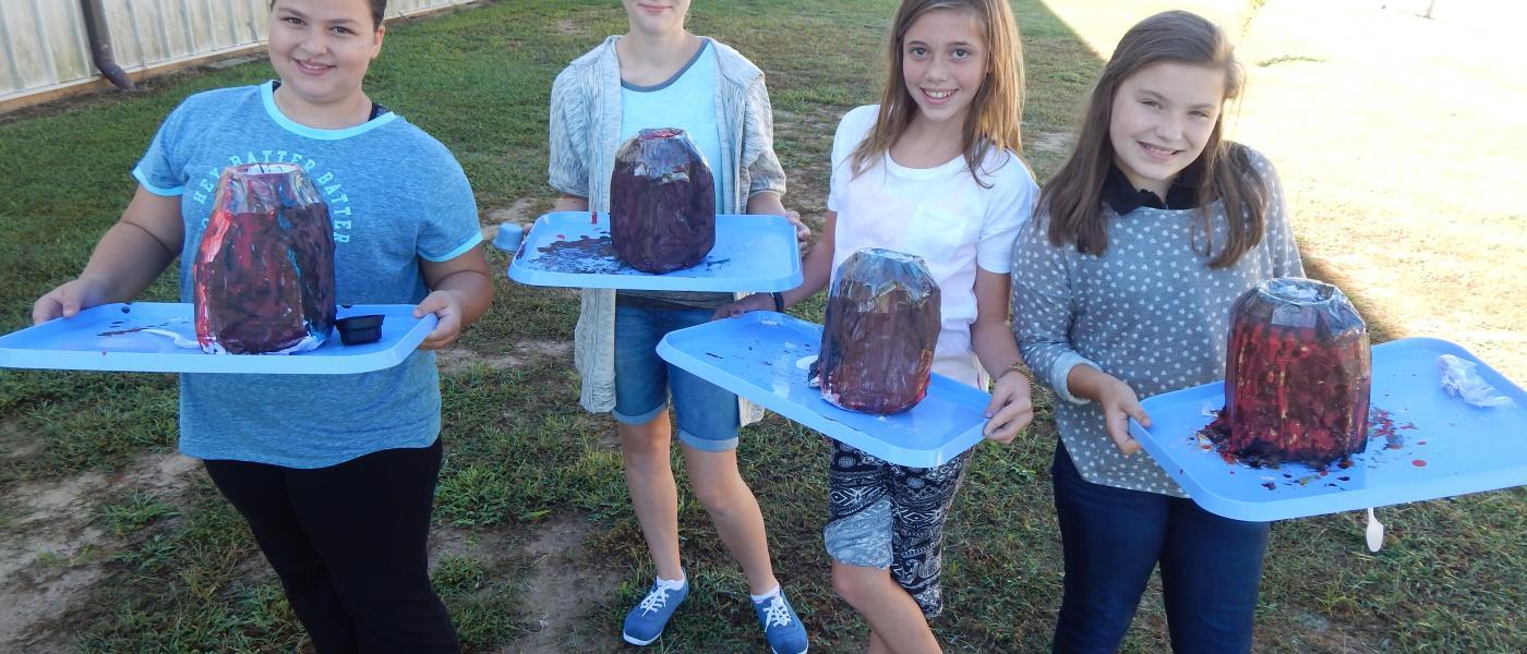 6th grade volcanoes